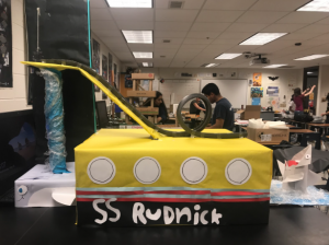 Physics 1 Students Take on Rollercoaster Design