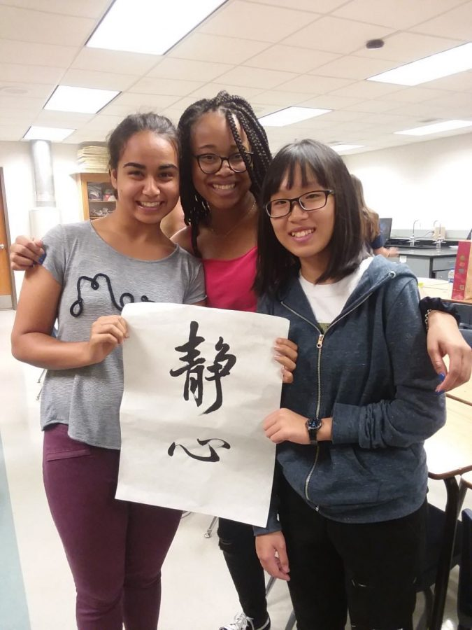 Taiwan students on their last day at BVN.