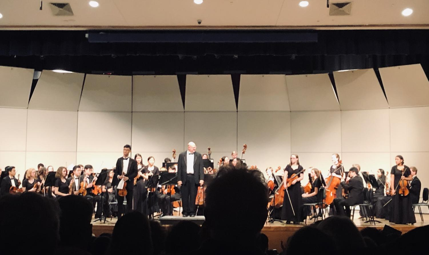 Mr. Phalp directs the orchestra at the Dec. 13 concert.