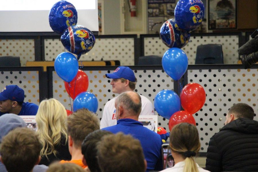 Senior Boys Partake in College Signing Ceremony
