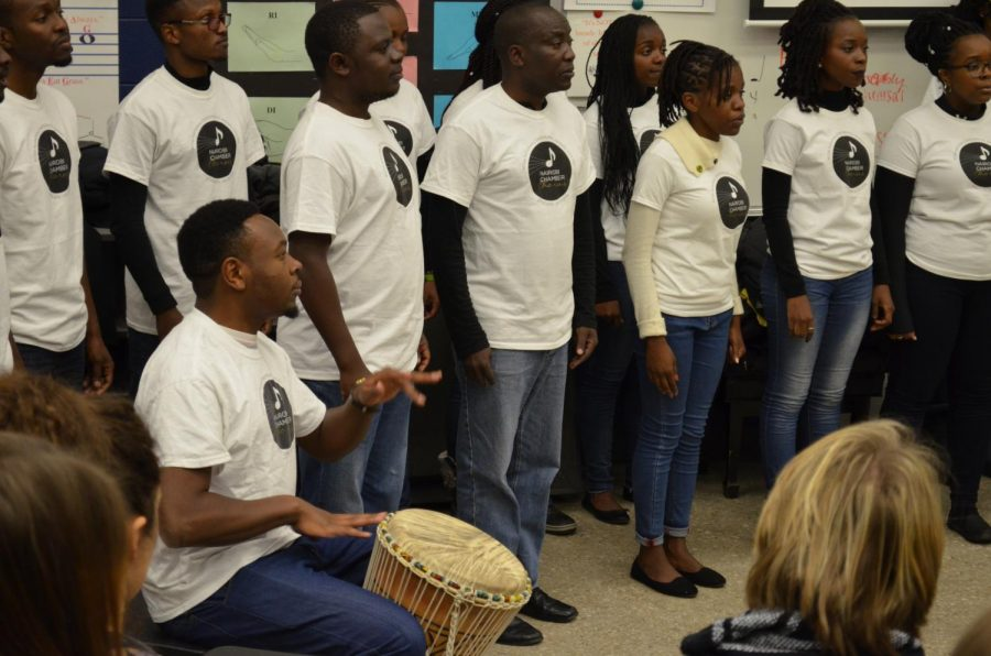 Nairobi Chamber Choir Visits BVN