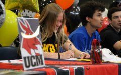 Senior Morgan McGruder signs to University Maryland, Baltimore County for soccer.