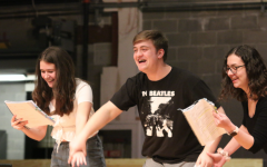 "Theatre Students Prepare for Spring Musical, ""Honk!"""