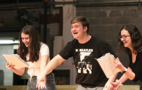 Theatre Students Prepare for Spring Musical,